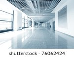 hall of business building with... | Shutterstock . vector #76062424