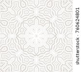 mandala background. ethnicity... | Shutterstock .eps vector #760624801
