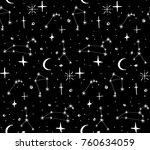 star background white black ...   Shutterstock .eps vector #760634059