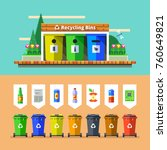 waste management and recycle... | Shutterstock .eps vector #760649821