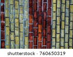 texture and bilding | Shutterstock . vector #760650319