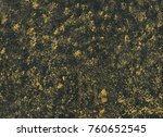 abstract background with golden ... | Shutterstock . vector #760652545