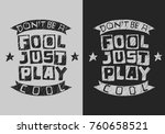handdrawn artistic typographic... | Shutterstock .eps vector #760658521