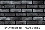 seamless texture of a dark gray ... | Shutterstock . vector #760664569