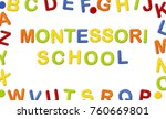 educational systems made out of ... | Shutterstock . vector #760669801
