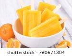 portion of fresh homemade... | Shutterstock . vector #760671304