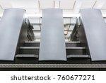 offset print machine units... | Shutterstock . vector #760677271