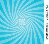 blue retro sunburst background. ... | Shutterstock .eps vector #760685761