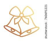 christmas bells icon    Shutterstock .eps vector #760691221