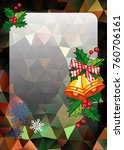 christmas  holiday background...   Shutterstock .eps vector #760706161