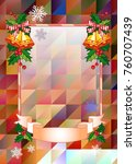 christmas  holiday background...   Shutterstock .eps vector #760707439