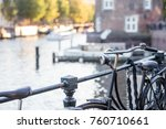 amsterdam  the netherlands ... | Shutterstock . vector #760710661