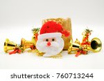 christmas composition.christmas ... | Shutterstock . vector #760713244
