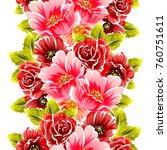 abstract elegance seamless... | Shutterstock .eps vector #760751611