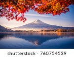 colorful autumn season and...   Shutterstock . vector #760754539