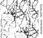 vector black and white grunge... | Shutterstock .eps vector #760778731