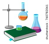 Textbook And Chemistry Tools...