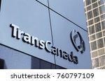 the transcanada pipelines head... | Shutterstock . vector #760797109