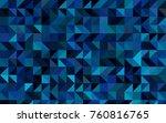 light blue  green vector... | Shutterstock .eps vector #760816765