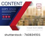 presentation layout design... | Shutterstock .eps vector #760834501