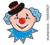 Head Of Clown  Funny...