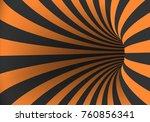 illustration of spiral optical... | Shutterstock . vector #760856341