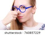 stinky smells  clogged concept. ... | Shutterstock . vector #760857229
