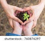 csr go green  arbor  tu bishvat ...   Shutterstock . vector #760876297