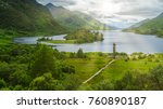 glenfinnan monument  at the... | Shutterstock . vector #760890187