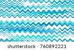 watercolor wavy stripes. hand... | Shutterstock .eps vector #760892221