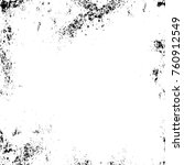 grunge black and white pattern. ... | Shutterstock . vector #760912549