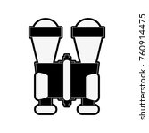 binoculars travel equipment | Shutterstock .eps vector #760914475
