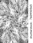 grunge black and white pattern. ... | Shutterstock . vector #760950565