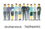 people team student in line...   Shutterstock .eps vector #760966441
