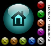 Home Icons In Color Illuminate...