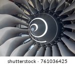 Turbine From Aircraft Jet Engine