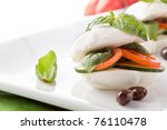 photo of delicious stuffed... | Shutterstock . vector #76110478