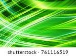abstract stripes emerald...   Shutterstock . vector #761116519