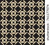 lisbon pavement ornament... | Shutterstock .eps vector #761177074