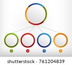 modern infographic template... | Shutterstock .eps vector #761204839