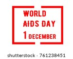 aids awareness background.... | Shutterstock .eps vector #761238451