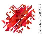 minimalist design  creative... | Shutterstock .eps vector #761239549