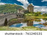 august 17  2017 isle of skye ... | Shutterstock . vector #761240131