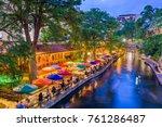 San Antonio  Texas  Usa...