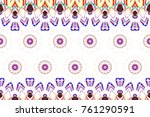 colorful textured pattern for... | Shutterstock . vector #761290591