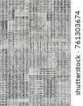 grunge patchwork pattern  | Shutterstock . vector #761303674