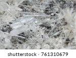 selenite mineral from greece | Shutterstock . vector #761310679
