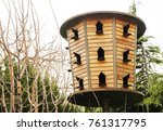 Traditional Wooden Dovecote....
