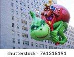 new york city  usa  november 23 ... | Shutterstock . vector #761318191