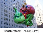 new york city  usa  november 23 ... | Shutterstock . vector #761318194